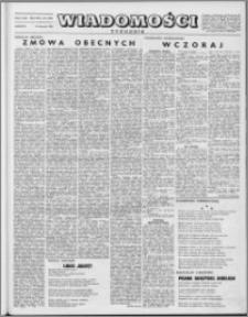 Wiadomości, R. 8 nr 34 (386), 1953