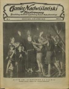 Goniec Nadwiślański Ilustrowany : bezpłatny dodatek tygodniowy Gońca Ndwiślańskiego 1932.02.21 R.6 nr8