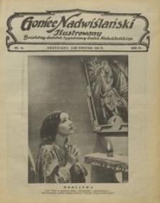 Goniec Nadwiślański Ilustrowany : bezpłatny dodatek tygodniowy Gońca Ndwiślańskiego 1932.04.03 R.6 nr 14