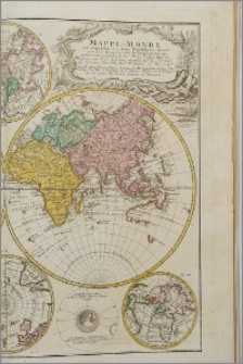 Bequemer Hand Atlas aus Sechs Vund Zwanzig Homannischen Landkarten nach der Vorschrifft der Hübnerischen Musei Geographici N.2 zum Gebrauch der Hübnerischen Geographischen Fragen also eingerichet