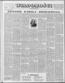 Wiadomości, R. 8 nr 37 (389), 1953