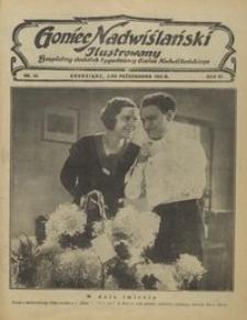 Goniec Nadwiślański Ilustrowany : bezpłatny dodatek tygodniowy Gońca Ndwiślańskiego 1932.10.02 R.6 nr 40
