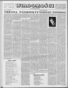 Wiadomości, R. 8 nr 41 (393), 1953