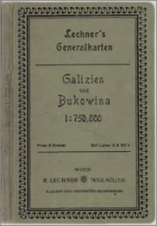 Generalkarte von Galizien und Bukowina