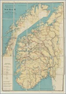 Bennett's Touristkart over Norge