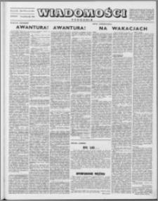 Wiadomości, R. 8 nr 42 (394), 1953