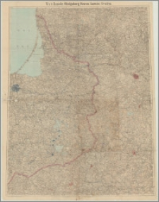 Tilsit, Szawle, Königsberg, Kowno, Łomża, Grodno