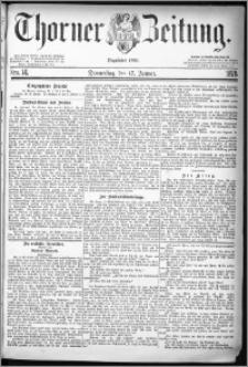 Thorner Zeitung 1878, Nro. 14 + Beilagenwerbung