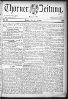 Thorner Zeitung 1878, Nro. 23 + Beilage