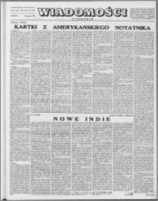 Wiadomości, R. 8 nr 45 (397), 1953
