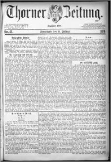 Thorner Zeitung 1878, Nro. 40
