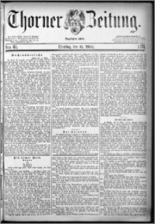 Thorner Zeitung 1878