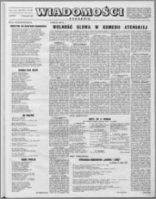Wiadomości, R. 8 nr 47 (399), 1953