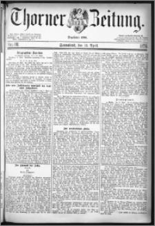 Thorner Zeitung 1878, Nro. 88