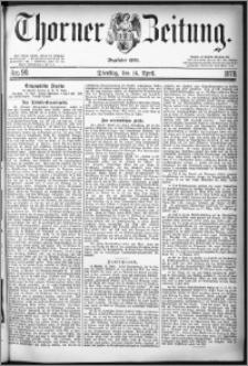 Thorner Zeitung 1878, Nro. 90