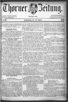 Thorner Zeitung 1878, Nro. 96