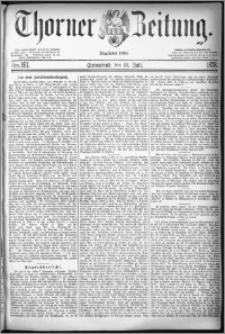 Thorner Zeitung 1878, Nro. 161