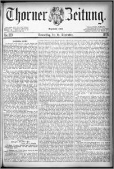 Thorner Zeitung 1878, Nro. 219