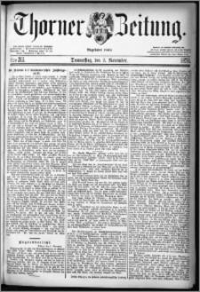 Thorner Zeitung 1878, Nro. 261