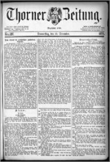 Thorner Zeitung 1878, Nro. 297 + Extra-Beilage, Beilagenwerbung