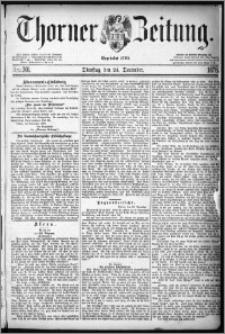 Thorner Zeitung 1878, Nro. 301