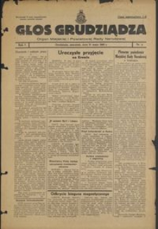 Głos Grudziądza : organ Miejskiej i Powiatowej Rady Narodowej : 1945.05.31, R. 1 nr 8