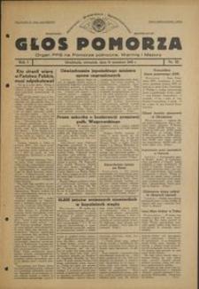 Głos Pomorza : organ PPS na Pomorze północne, Warmię i Mazury : 1945.09.13, R. 1 nr 52