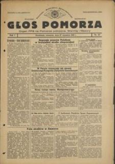 Głos Pomorza : organ PPS na Pomorze północne, Warmię i Mazury : 1945.09.27, R. 1, nr 57