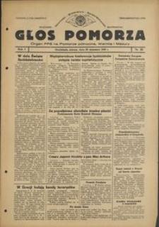 Głos Pomorza : organ PPS na Pomorze północne, Warmię i Mazury : 1945.09.28, R. 1, nr 58