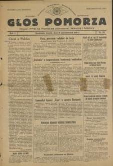 Głos Pomorza : organ PPS na Pomorze północne, Warmię i Mazury : 1945.10.16, R. 1 nr 64