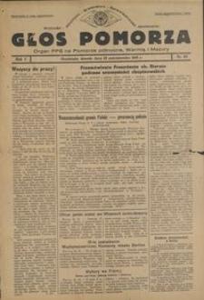 Głos Pomorza : organ PPS na Pomorze północne, Warmię i Mazury : 1945.10.23, R. 1 nr 67