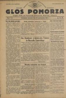 Głos Pomorza : organ PPS na Pomorze północne, Warmię i Mazury : 1945.10.25, R. 1 nr 68
