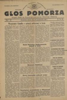 Głos Pomorza : organ PPS na Pomorze północne, Warmię i Mazury : 1945.10.27, R. 1 nr 69