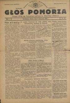 Głos Pomorza : organ PPS na Pomorze północne, Warmię i Mazury : 1945.11.13, R. 1 nr 76