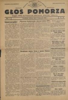 Głos Pomorza : organ PPS na Pomorze północne, Warmię i Mazury : 1945.11.17, R. 1 nr 78