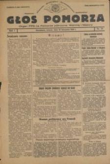 Głos Pomorza : organ PPS na Pomorze północne, Warmię i Mazury : 1945.11.20, R. 1 nr 79