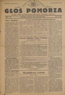 Głos Pomorza : organ PPS na Pomorze północne, Warmię i Mazury : 1945.11.22, R. 1 nr 80