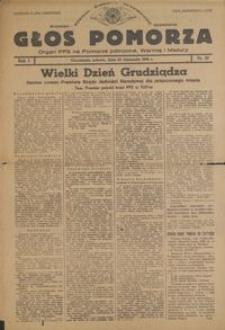 Głos Pomorza : organ PPS na Pomorze północne, Warmię i Mazury : 1945.11.24, R. 1 nr 81