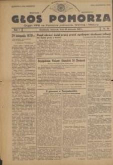 Głos Pomorza : organ PPS na Pomorze północne, Warmię i Mazury : 1945.11.29, R. 1 nr 83