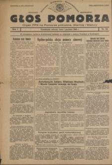 Głos Pomorza : organ PPS na Pomorze północne, Warmię i Mazury : 1945.12.01, R. 1 nr 84