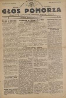Głos Pomorza : : 1945.12.04, R. 1 nr 85