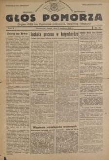 Głos Pomorza : organ PPS na Pomorze północne, Warmię i Mazury : 1945.12.07, R. 1 nr 87