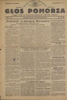 Głos Pomorza : organ PPS na Pomorze północne, Warmię i Mazury : 1945.12.28, R. 1 nr 95