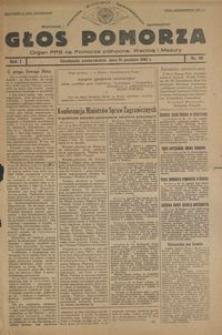 Głos Pomorza : organ PPS na Pomorze północne, Warmię i Mazury : 1945.12.31, R. 1 nr 96