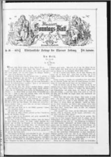 Illustrirtes Sonntags-Blatt : Wöchentliche Beilage der Thorner Zeitung 1878, Nr 39