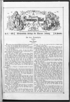 Illustrirtes Sonntags-Blatt : Wöchentliche Beilage der Thorner Zeitung 1878, Nr 47