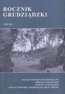 Rocznik Grudziądzki T.19