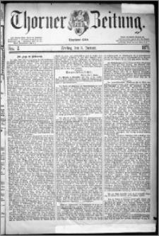 Thorner Zeitung 1879, Nro. 2
