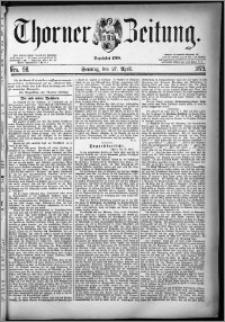 Thorner Zeitung 1879, Nro. 98