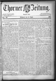 Thorner Zeitung 1879, Nro. 100